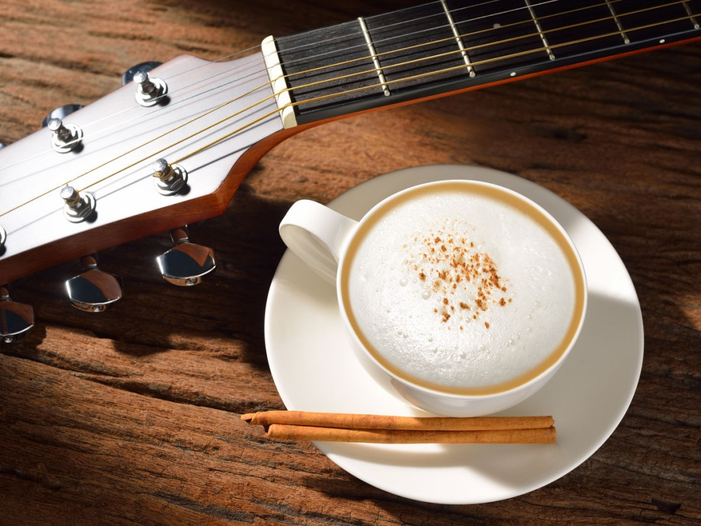 coffee-and-guitar